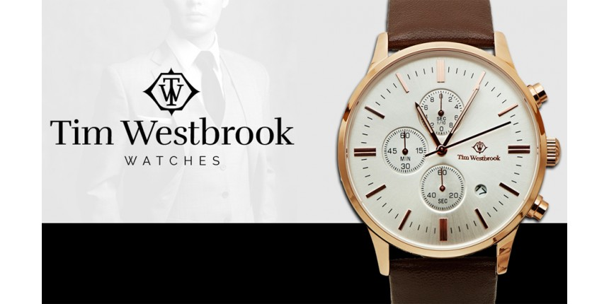 The simplicity and perfection of Tim Westbrook watches